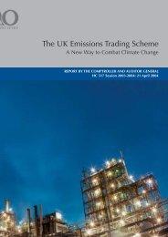 The UK Emissions Trading Scheme - National Audit Office