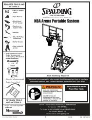 Assembly Instructions for The Beast system - BasketballGoals.com