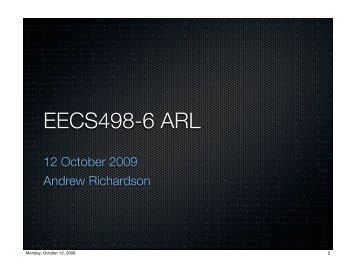 EECS498-6 ARL