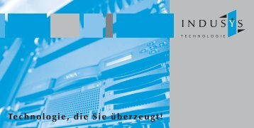 Download Flyer - INDUSYS GmbH