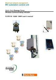 Flite 116 - G200 user's manual - Schneider Electric