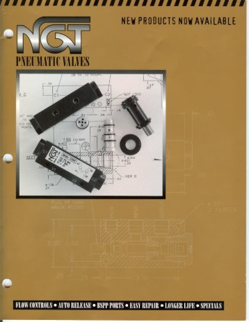 NGT Pneumatic Valves pages 18-28