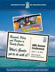 48th Annual Conference - MA AFCC