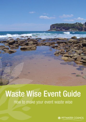 Waste Wise Event Guide For General Stall Holders - Pittwater Council