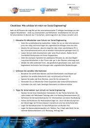 Wie schütze ich mich vor Social Engineering? - eBusiness-Lotse ...
