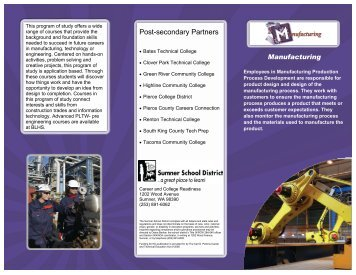 Manufacturing - Sumner School District