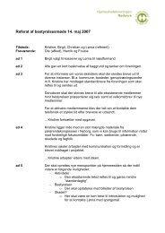 Referat af bestyrelsesmøde 14 - Hjerneskadeforeningen