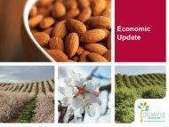 Day 2 Lunch, Economic Update.pdf - Almond Board of California