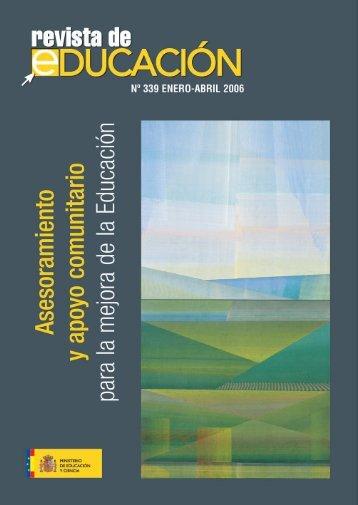 Revista completa en formato PDF 11387Kb - Revista de Educación