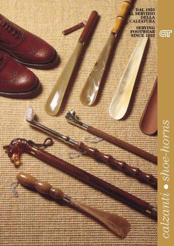 calzanti shoe-horns - Tradigo Giovanni srl