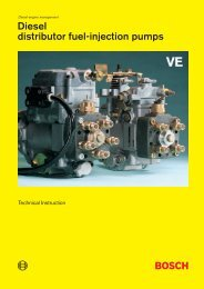 Diesel distributor fuel-injection pumps