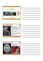 Vortrag 3 Dr. Zeller - Plastizität des Nervensystems