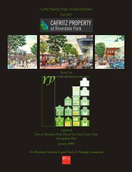 Design Standard Guidelines - Prince George's County Planning ...