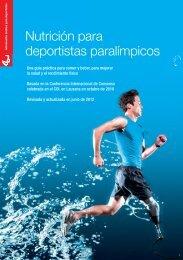 Nutrición para deportistas paralímpicos - Coca-Cola