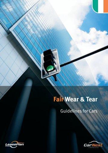 Fair Wear & Tear Guide (Cars) - LeasePlan