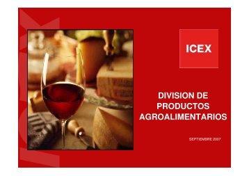 promoción agroalimentaria desde icex - Cooperativas Agro ...