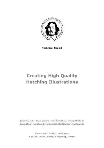 Creating High Quality Hatching Illustrations