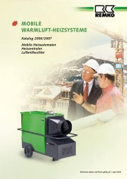 MObilE waRMluft-hEizsystEME