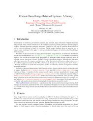 Content-Based Image Retrieval Systems: A Survey - CiteSeerX