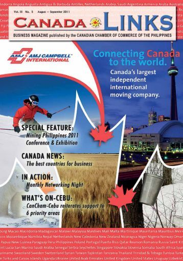 service directory - Canadian Chamber of Commerce of the Philippines