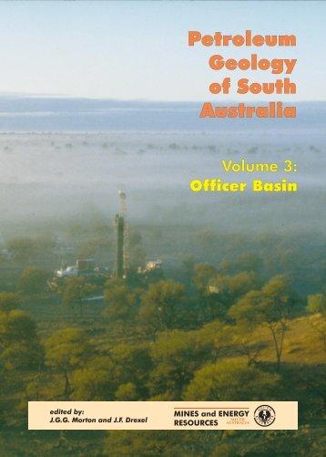 Petroleum Geology of South Australia Petroleum ... - SA.Gov.au