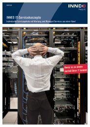 INNEO IT-Servicekonzepte
