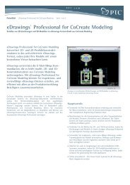 eDrawings® Professional for CoCreate Modeling - Inneo