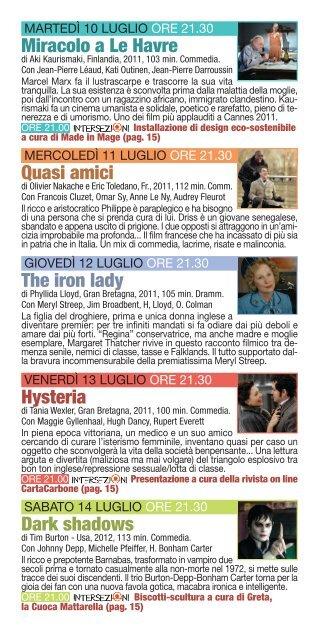 Cinem a Cinem a - Cinema Rondinella
