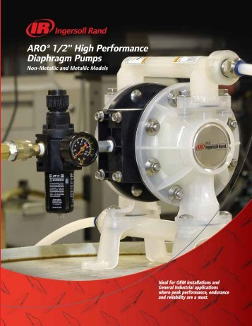 "ARO® 1/2"" High Performance Diaphragm Pumps - CH Reed Inc."