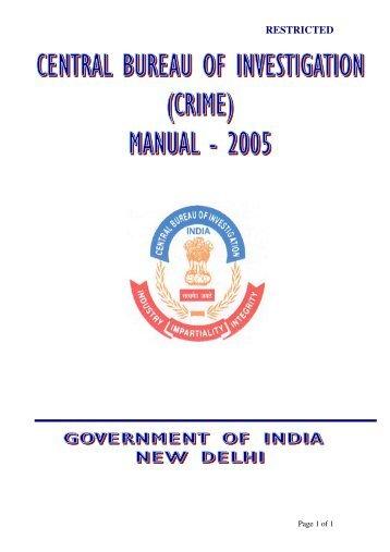 Chapter 1 central bureau of investigation - Criminal bureau of investigation mn ...