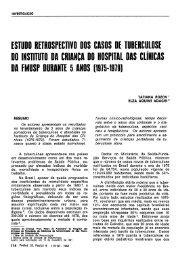 estudo retrospectivo dos casos de tuberculose do instituto da ...
