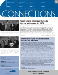 West Shore Chamber Website Gets a Makeover for 2008