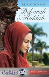 Reflections on Deborah & Huldah - Secrets Unsealed > Home
