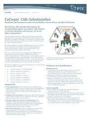 CoCreate® CAD-Schnittstellen - Inneo