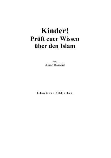 KINDER! Prüft euer Wissen über den Islam - Way to Allah