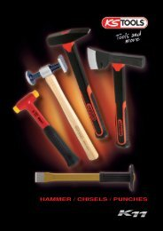 HAMMER / CHISELS / PUNCHES