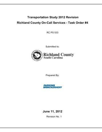 2012 Study Update - Richland County