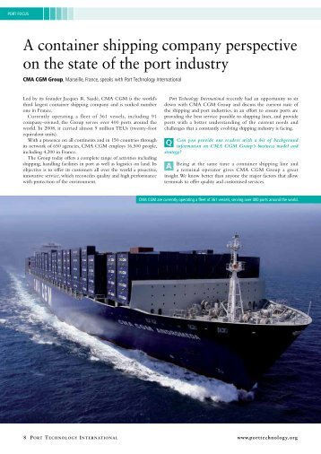 Download the full article - Port Technology International