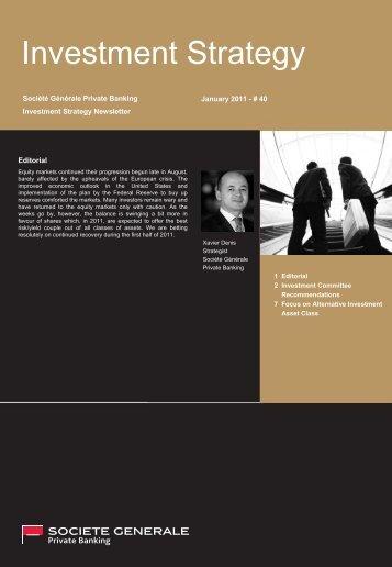 SG Private Banking Corporate Template (Master Title / Titre principal)