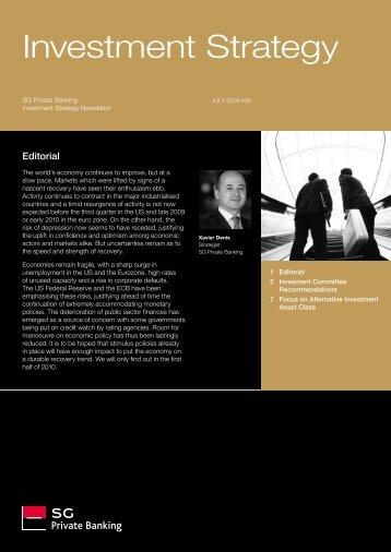 Investment Strategy - Societe Generale Private Banking - Société ...