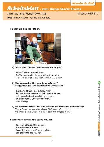 Arbeitsblatt: Scheidung/Trennung Fallbeispiel 11 Frau ... - WebQuests