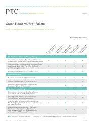Creo™ Elements/Pro™ Pakete - Inneo