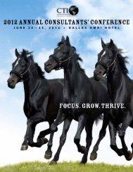 2012 Annual Consultants' Conference - NACVA.com
