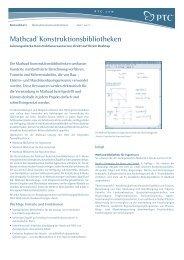 Mathcad® Konstruktionsbibliotheken - Inneo