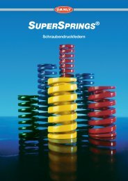 Supersprings Katalog - Danly Deutschland GmbH, 78083 Dauchingen