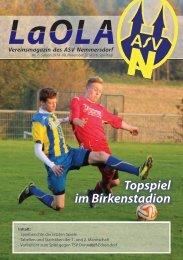 LaoLa - Ausgabe 7 - Saison 2014/2015 - 9.11.2014