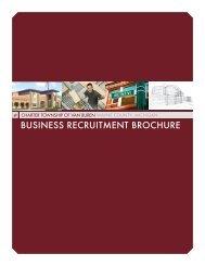 BUSINESS RECRUITMENT BROCHURE - Van Buren Township