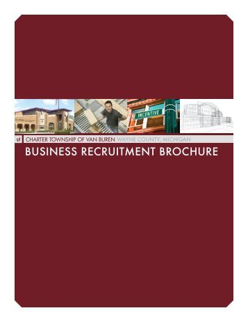 BUSINESS RECRUITMENT BROCHURE - Van Buren Township