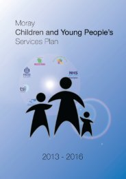 Integrated Services Plan for Children & Young People - The Moray ...