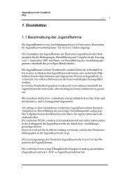 1. Grundsätze: 1.1 Beschreibung der Jugendflamme - Kfv Hof